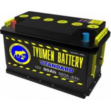 Аккумулятор TYUMEN BATTERY (ТЮМЕНЬ) STANDARDR 90 Ач, 680 А, прямая полярность ²