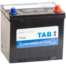 Аккумулятор TAB Asia Polar 65 Ач, 650 А (56568), обратная полярность, нижний борт ²
