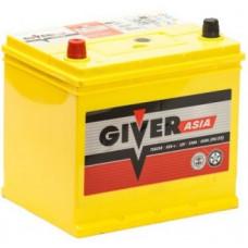 Аккумулятор GIVER Asia  65 Ач, 530 А (75D23L), обратная полярность ²