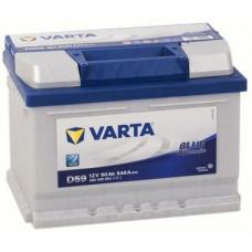Аккумулятор VARTA Blue Dynamic 60 Ач, 640 А (560500064) EFB, обратная полярность ²