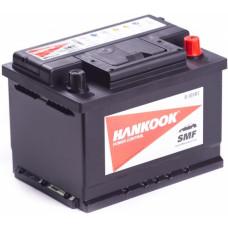 Аккумулятор HANKOOK  61 Ач, 510 А (56077), низкий, обратная полярность ²