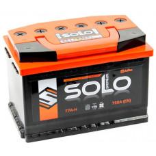 Аккумулятор SOLO PREMIUM 77 Ач, 750 А, обратная полярность ²
