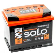 Аккумулятор SOLO PREMIUM 55 Ач, 550 А, прямая полярность ²