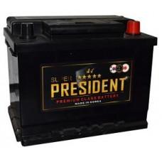 Аккумулятор SUPER PRESIDENT  60 Ач, 560 А, прямая полярность ¹
