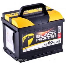 Аккумулятор BLACK HORSE  60 Ач, 540 А, низкий, обратная полярность ²