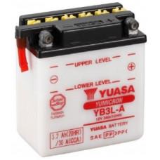 Аккумулятор GS YUASA  12В 3 Ач (YB3L-A), обратная полярность ⁶