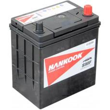 Аккумулятор HANKOOK Asia  40 Ач, 370 А (44B19L), обратная полярность, тонкие клеммы ²