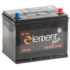 Аккумулятор SMART ELEMENT Asia  70 Ач, 530 А (75D26L), обратная полярность ²