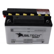 Аккумулятор SILTECH DC 12В 5 Ач, 60 А (12M5-D), обратная полярность, сухо-заряженный, с электролитом ¹