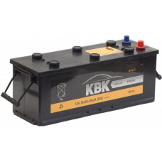 Аккумулятор KBK TRUCK 135 Ач, 850 А, европейская полярность, конусные клеммы ²