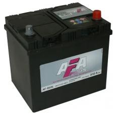 Аккумулятор AFA PLUS Asia  60 Ач, 510 А (AF-D23L), обратная полярность ¹