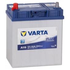 Аккумулятор VARTA Asia Blue Dynamic 40 Ач, 330 А (A15), прямая полярность, тонкие клеммы ²
