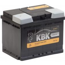 Аккумулятор KBK  60 Ач, 550 А (SMF55048), прямая полярность ²