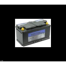 Аккумулятор VEKTOR PLUS 100 Ач, 860 А, обратная полярность ²