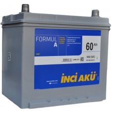 Аккумулятор INCI AKU Asia FormulА 60 Ач, 540 А (75D23L), обратная полярность, нижний борт ¹