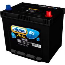 Аккумулятор АКОМ Asia  65 Ач, 520 А (65D23), обратная полярность ⁵