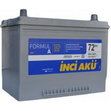 Аккумулятор INCI AKU Asia FormulА 72 Ач, 600 А (90D26L), обратная полярность, нижний борт ¹