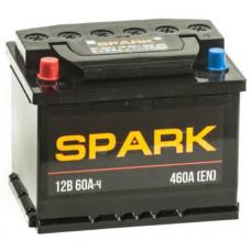 Аккумулятор SPARK  60 Ач, 500 А, прямая полярность ²