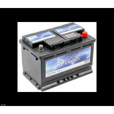 Аккумулятор ISKRA ENERGY  72 Ач, 680 А (572409068), низкий, обратная полярность ²