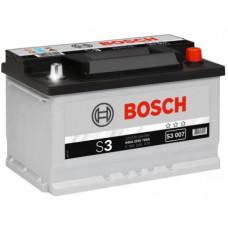 Аккумулятор BOSCH S3 70 Ач, 640 А, низкий, обратная полярность