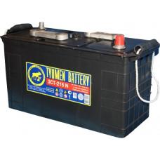 Аккумулятор TYUMEN BATTERY (ТЮМЕНЬ)  6В 215 Ач, 1000 А, европейская полярность, сухо-заряженный, конусные клеммы ²