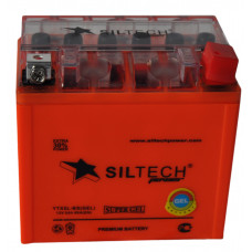 Аккумулятор SILTECH GEL 12В 5 Ач, 80 А (YTX5L-BS) GEL, обратная полярность ¹
