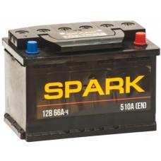 Аккумулятор SPARK  66 Ач, 510 А, прямая полярность ²