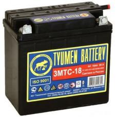 Аккумулятор TYUMEN BATTERY (ТЮМЕНЬ) ЛИДЕР 6В 18 Ач, 90 А (3МТС-18), сухо-заряженный, болтовые клеммы ¹
