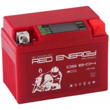 Аккумулятор RED ENERGY DS 12В 4 Ач, 60 А (DS 1204), обратная полярность ⁶
