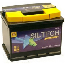 Аккумулятор SILTECH  61 Ач, 570 А, прямая полярность ¹