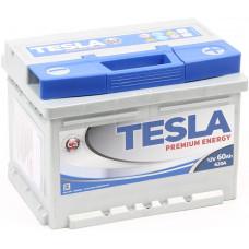 Аккумулятор TESLA PREMIUM ENERGY 60 Ач, 620 А, обратная полярность ²