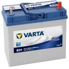 Аккумулятор VARTA Asia Blue Dynamic 45 Ач, 330 А (B31), обратная полярность, тонкие клеммы, 2017 г.в. ¹