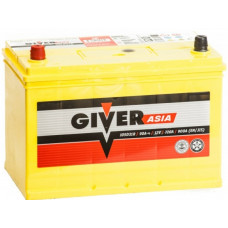 Аккумулятор GIVER Asia  75 Ач, 610 А (80D26R), прямая полярность ²