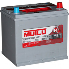 Аккумулятор MUTLU Asia SFB M3 68 Ач, 600 А (70D23FL), обратная полярность, нижний борт ²