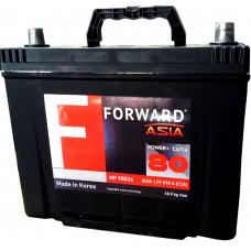 Аккумулятор FORWARD Asia MF 80 Ач, 650 А (90D26L) Ca/Ca, обратная полярность, нижний борт ¹