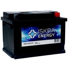 Аккумулятор ISKRA ENERGY  60 Ач, 540 А (560409054), низкий, обратная полярность ²