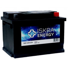 Аккумулятор ISKRA ENERGY Asia  60 Ач, 510 А (560412051), обратная полярность ²