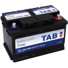 Аккумулятор TAB Polar 73 Ач, 630 А (57309), низкий, обратная полярность ²