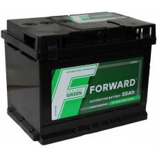 Аккумулятор FORWARD Green 55 Ач, 500 А, прямая полярность ¹