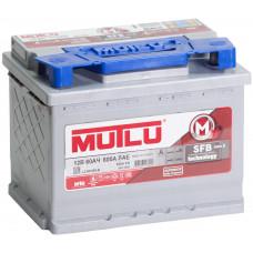 Аккумулятор MUTLU SFB M3 60 Ач, 540 А, низкий, обратная полярность ²