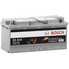 Аккумулятор BOSCH S5 105 Ач, 950 А AGM, обратная полярность ²