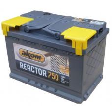Аккумулятор REACTOR  75 Ач, 750 А, обратная полярность ⁵