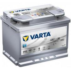 Аккумулятор VARTA Silver Dynamic 60 Ач, 680 А (D52) AGM, обратная полярность ¹