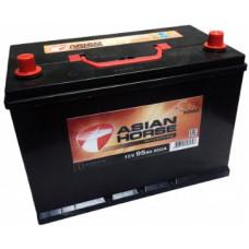 Аккумулятор ASIAN HORSE Asia  95 Ач, 800 А, обратная полярность ²