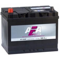 Аккумулятор AFA PLUS Asia  68 Ач, 550 А (AF-D26L), обратная полярность ¹
