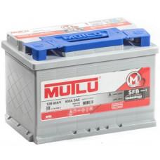 Аккумулятор MUTLU SFB M2 60 Ач, 510 А, низкий, обратная полярность ²