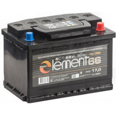 Аккумулятор SMART ELEMENT  66 Ач, 550 А, обратная полярность ²