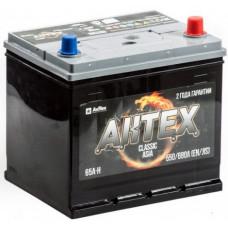 Аккумулятор АКТЕХ Asia CLASSIC 65 Ач, 550 А (75D23L), обратная полярность ²