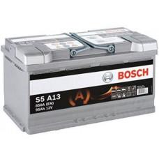 Аккумулятор BOSCH S5 95 Ач, 850 А AGM, обратная полярность ²