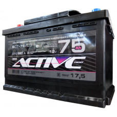 Аккумулятор ACTIVE FROST  75 Ач, 560 А, прямая полярность ²